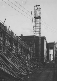 1955 Edens Hall North: Construction