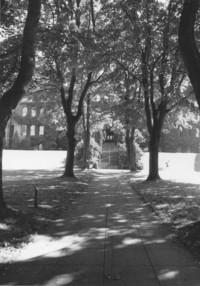 1982 Old Main: Main Entrance