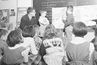 1961 Rene Philippart's First Grade French Lesson