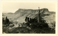 Table mountain near Mount Baker