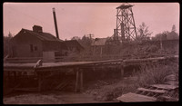 Lynden's first power plant before its disassembling