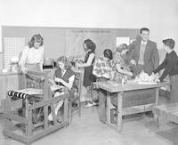 1946 Sixth Grade Industrial Arts Activities