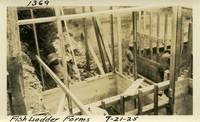Lower Baker River dam construction 1925-09-21 Fish Ladder Forms