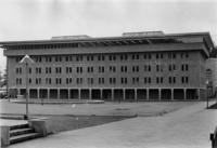 1968 Bond Hall: Exterior