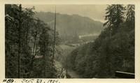 Lower Baker River dam construction 1924-09-23 Flood