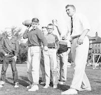 1955 Football Practice