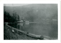 Steamer Marguerite at Hildebrand's, Lake Whatcom, Washington