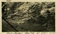 Lower Baker River dam construction 1925-06-17 Rock Surface Run #136 El.2785