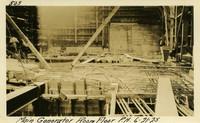 Lower Baker River dam construction 1925-06-21 Main Generator Room Floor P.H.