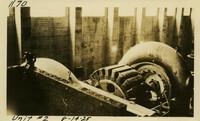 Lower Baker River dam construction 1925-08-14 Unit #2