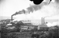 View of shoreline and industries in Fairhaven (Wash.)