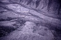 Aerial view of South Fork of Toutle River.