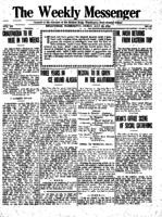 Weekly Messenger - 1921 July 22