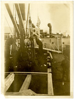 Deck of a Pacific American Fisheries transport ship