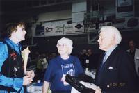 2007 Reunion--Marian Alexander, Marilyn (Wheeler) Bernhardt and Mark Wheeler at the Banquet