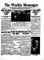 Weekly Messenger - 1923 October 26
