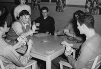 1948 Students Playing Cards