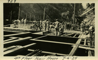 Lower Baker River dam construction 1925-07-06 4th Floor Power House