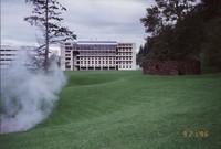 1996 Environmental Studies Building and Steam Sculpture