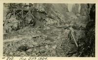 Lower Baker River dam construction 1924-11-30