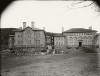 1907 Main Building: Science Wing Construction