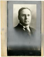 Studio portrait of Jos G. Snydaker