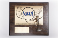 Track and Field (Women's) Plaque: NAIA District 1 Champions, 1984