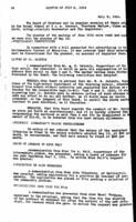 WWU Board minutes 1914 July