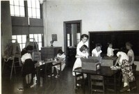 1950 Fourth Grade With Zona Daverin, Student Teacher