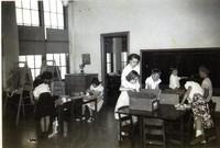 1950 Fourth Grade With Zona Daverin, Student Teacher
