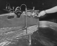 1952 Photograph Developing Tank