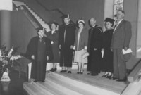 1952 Commencement: Faculty