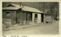 Lower Baker River dam construction 1924-09-03 Field office