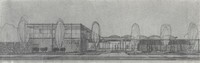 1958 Architect's Drawing