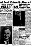 Western Washington Collegian - 1959 August 14
