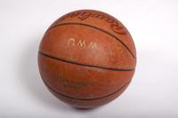 Basketball (Women's): Signed basketball (side 1), undated