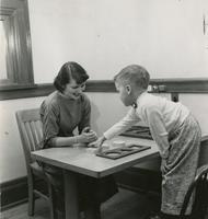 1957 Lynda Samuelson, Student Teacher And Student