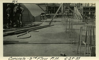 Lower Baker River dam construction 1925-06-28 Concrete 3rd Floor P.H.