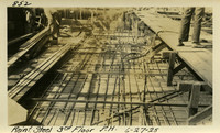 Lower Baker River dam construction 1925-06-27 Reinf Steel 3rd Floor P.H.