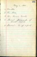 AS Board Minutes 1940-05