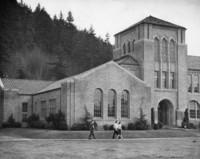 1945 Campus School Building, Main Entrance