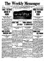 Weekly Messenger - 1921 January 7