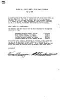 WWU Board minutes 1936 May