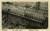 Lower Baker River dam construction