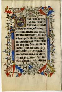 Medieval Manuscript Leaves, 1200-1500