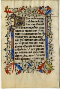 Medieval Manuscript Leaves, 1200-1500