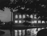 1940 Library at Night