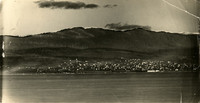panoramic view of Bellingham and Bellingham Bay (part 3 of triptych)