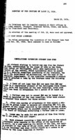 WWU Board minutes 1919 March