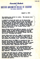 AS Board Minutes 1951-08